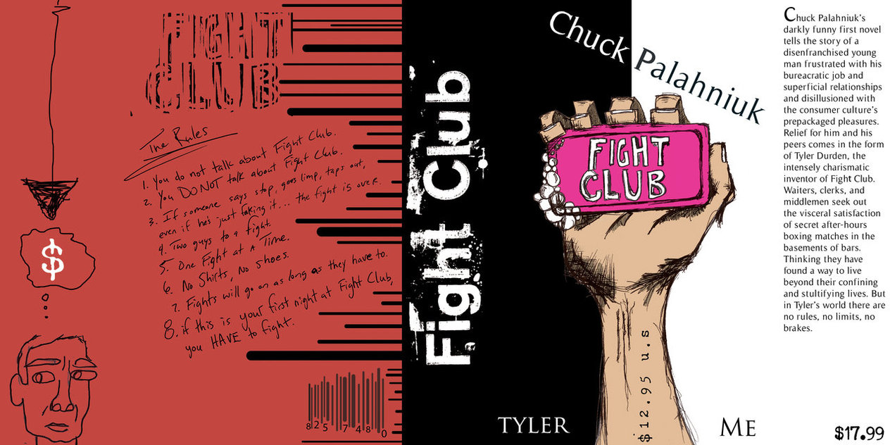 essays on fight club novel Fight club study guide contains a biography of chuck palahniuk, literature essays, quiz questions, major themes, characters, and a full summary and analysis.