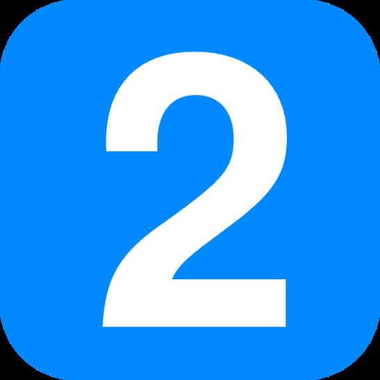 blue-number-two-hi