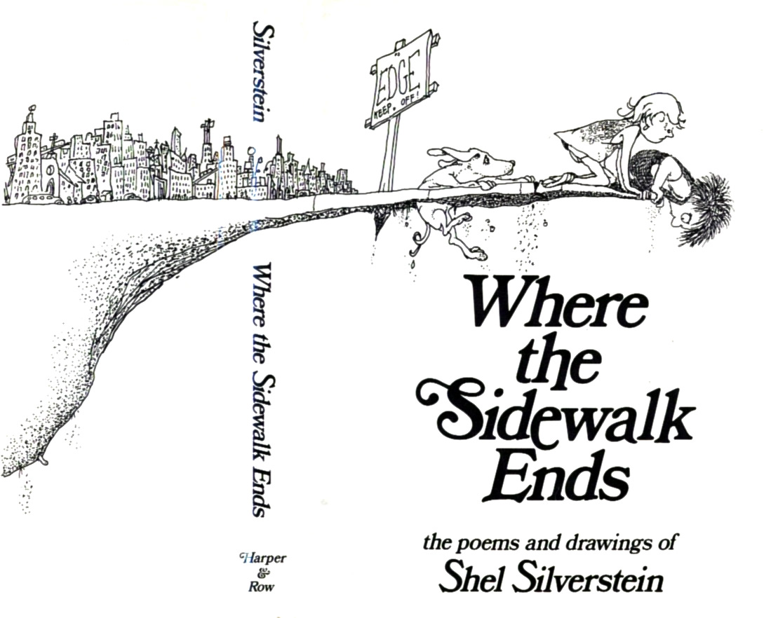 Poetry Book Cover Up : Shel silverstein and the scootersquad poetry question