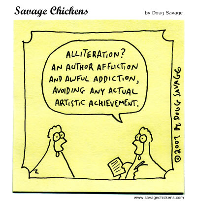 The Daily Prompt October 10th All About Alliteration The