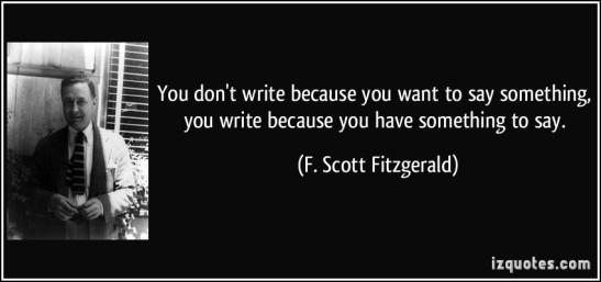 F. Scott